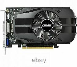 ASUS NVIDIA GeForce GTX750Ti 2GB GDDR5 PCI-E Video Card VGA DVI HDMI