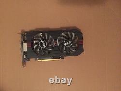 ASUS Nvidia GeForce GTX 750 Ti -GTX750TI-OC-2GD5- 2GB GDDR5 PCIE 3.0 Video
