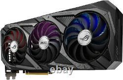 ASUS ROG Strix GeForce RTX 3080 10GB GDDR6X PCI Express 4.0 Graphics Card Black