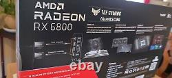 ASUS Radeon RX 6800 TUF Gaming Overclocked Triple-Fan 16GB GDDR6 PCIe 4.0 NIB
