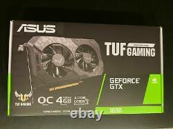 ASUS TUF Gaming GeForce GTX 1650 4GB 128-Bit GDDR6 PCI Express 3.0 Graphics Card