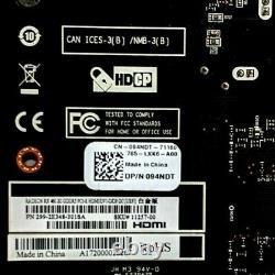 Dell Sapphire Radeon RX 460 GDDR5 2GB PCI-e HDMI DVI Graphics Video Card 94NDT
