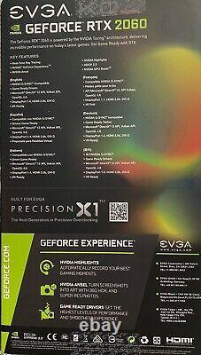 EVGA GeForce RTX 2060 KO ULTRA 6 GB GDDR6 PCI Express 3.0 Graphics Card