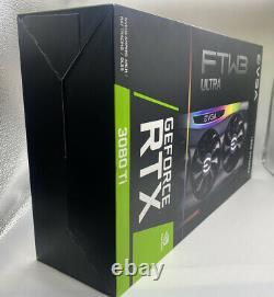 EVGA NVIDIA GeForce RTX 3080 Ti FTW3 Ultra Gaming 12GB GDDR6X PCI Express 4.0