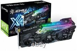Inno3D GeForce RTX 3070 ICHILL X4 8GB GDDR6 PCI-E Video Card HDMI DisplayPort