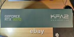 KFA2 GEFORCE RTX 3070 SG Serious Gaming 8GB GDDR6 PCI-Express Graphics Card