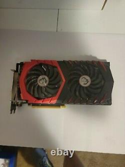 MSI GeForce GTX 1070 8GB GDDR5 PCI Express 3.0 x16 SLI Support ATX Video Card