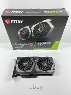 MSI GeForce GTX 1650 Super Gaming X Dual-Fan 4GB GDDR6 PCIe 3.0 Graphics Card