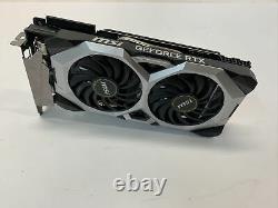 MSI GeForce RTX 2070 Super VENTUS 8GB GDDR6 PCI-E3.0 x16 Video Graphics Card