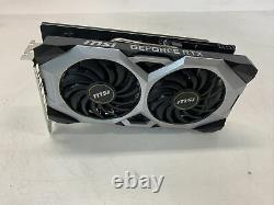 MSI GeForce RTX 2070 VENTUS 8GB GDDR6 PCI-E3.0 x16 Video Graphics Card