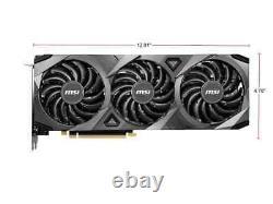MSI GeForce RTX 3070 DirectX12 VENTUS 3X OC 8GB 256Bit GDDR6 PCIe 4.0 Video Card