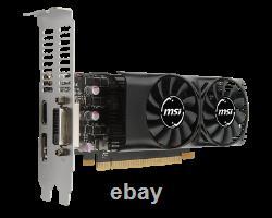 MSI NVIDIA GEFORCE GTX1050 Ti 4GB GDDR5 PCI-E Video Card DVI HDMI DP Low Profile