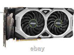MSI NVIDIA GEFORCE RTX 2080 SUPER VENTUS XS OC 8GB GDDR6 PCI-E Video Card HDMI