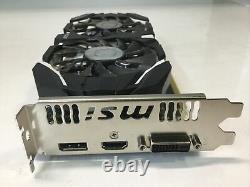 MSI Nvidia GeForce GTX 1060 6GT OCV1 6GB GDDR5 PCIe x16 Graphics Video Card