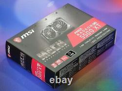 MSI Radeon RX 5500 XT MECH 8GB 8G 128-bit GDDR6 PCI-E 4.0 AMD Video Card