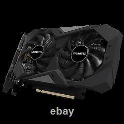 NEW Gigabyte GeForce GTX 1650 D6 OC 4GB GDDR6 GV-N1656WF2OC-4GD PCI-E Video Card