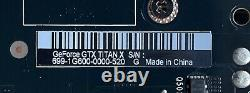 NVIDIA GTX TITAN X 12GB GDDR5 384-bit PCIe 3.0 Maxwell 699-1G600-0000-520