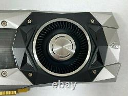 NVIDIA GeForce GTX 1080 Founders Edition 8GB GDDR5 PCI Express Graphics Card