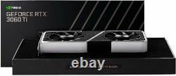 NVIDIA GeForce RTX 3060 Ti 8GB GDDR6 PCI Express 4.0 Graphics Card Steel & Black
