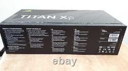 NVIDIA GeForce TITAN Xp 12GB GDDR5X PCI-E Video Card PASCAL CUDA Cores HDMI DP