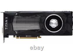 NVIDIA GeForce Titan X (Pascal) 12GB 384-Bit GDDR5X PCI Express 3.0 Video Card