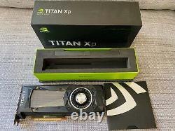 NVIDIA TITAN Xp 12GB GDDR5X PCI Express Graphics Card (Last two cards)