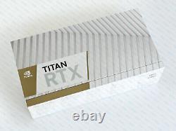 NVIDIA Titan RTX 24GB GPU GDDR6 PCIe 3.0 CUDA Graphics Video Card