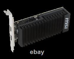 New MSI GeForce GT 1030 2GH LP OC (Overclock) 2GB GDDR5 PCI-E 3.0 Graphic Card
