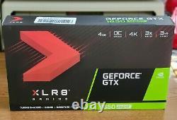 PNY GeForce GTX 1650 Super Gaming XLR8 4GB GDDR5 Graphics Card (VCG16504SSFPPBO)