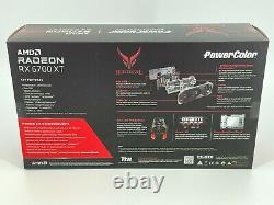 PowerColor AMD Radeon RX 6700 XT Red Devil Triple-Fan 12GB GDDR6 PCIe 4.0 GPU