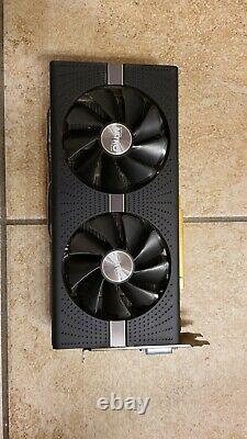Sapphire Radeon NITRO+ RX 580 8GB GDDR5 PCI-E Dual HDMI / Dual DP / DVI-D with BP