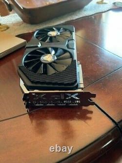 XFX AMD Radeon RX 5600 XT RAW II PRO 6GB GDDR6 PCIe 4.0x16 NOT WORKING FOR PARTS