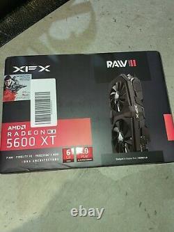XFX Amd Radeon RX 5600 XT RAW II PRO 6GB GDDR6 PCI Express 4.0 Graphics Card