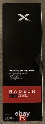 XFX Radeon RX 580 GTS Black Edition 8GB GDDR5 PCIe 3.0 GPU Graphics Card IN HAND