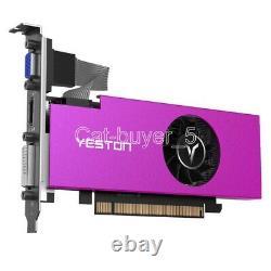 YESTON AMD Radeon RX550 4GB GDDR5 PCI-E Video Card VGA DVI HDMI